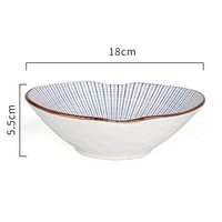 Fine Asianliving Japans Servies Nippon Chigusa Selection - Serveerschaal 18x5cm