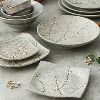 Fine Asianliving Japans Servies Soshun Grey Collection - Dinerbord 29x3.5cm
