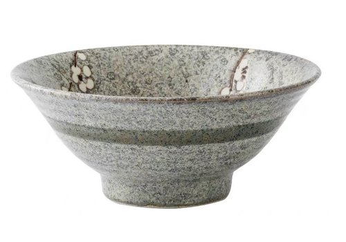 Fine Asianliving Japanese Tableware Soshun Grey Collection - Noodle Ramen Bowl 21x8.5cm