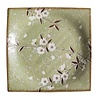 Fine Asianliving Fine Asianliving Japans Servies Soshun Glossy Cosmos Green - Serveerschaal 23x3cm