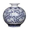 Fine Asianliving Fine Asianliving Chinese Vase Porcelain Handpainted Blue-White