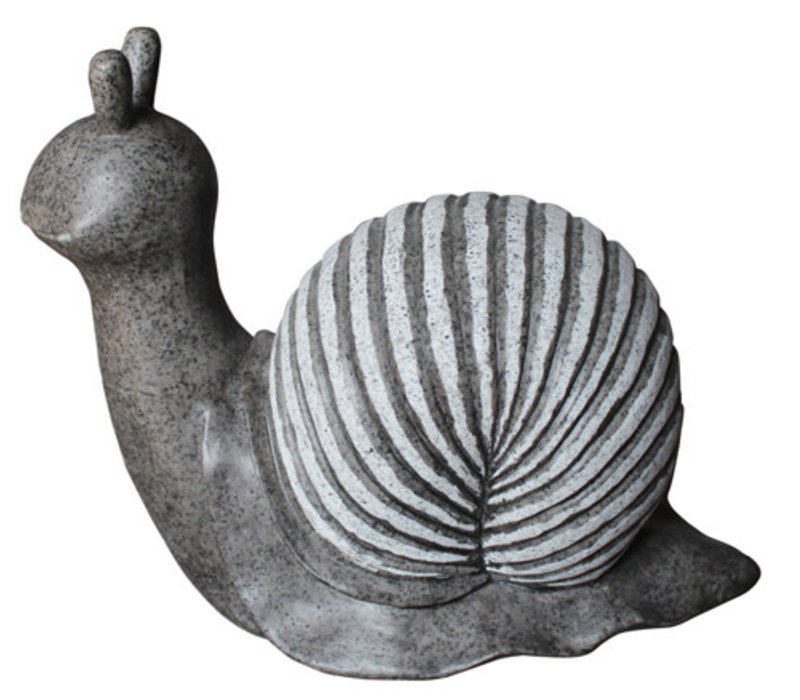 Sandstone Polished Snail Decor 17.5x34x27.5cm