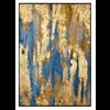 Fine Asianliving Olieverf Schilderij met Bladgoud Contemporary Art Handgemaakt