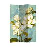 Fine Asianliving Room Divider 3 Panel Vintage Bohemian Flowers
