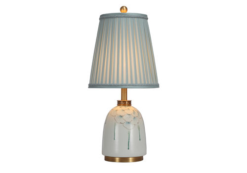 Fine Asianliving Oosterse Tafellamp Porselein met Kap