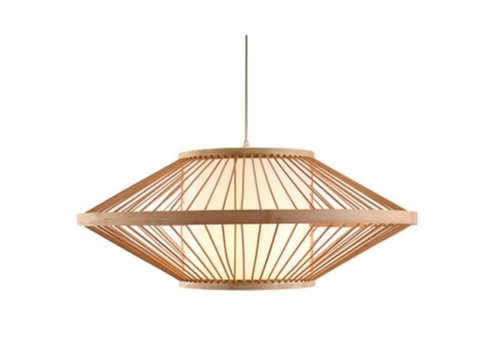 Fine Asianliving Ceiling Light Pendant Lighting Bamboo Lampshade Handmade - Sienna