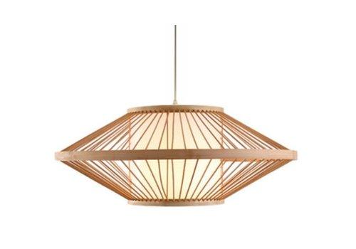 Fine Asianliving Lámpara de Techo Colgante de Bambú Hecha a Mano - Sienna