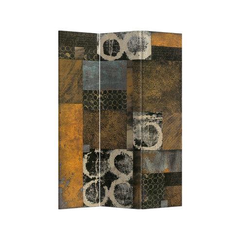 Room Divider 3 Panel Contemporary Art