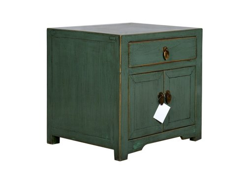 Fine Asianliving Chinese Bedside Table Mint Cube