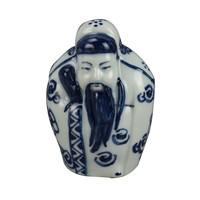 Chinese Statues 3 Star Gods Fu Lu Shou Sanxing Hand-painted Set/3