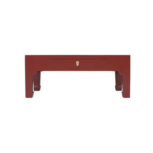 Chinese Coffee Table Ruby Red - Orientique Collection L110xW60xH45cm