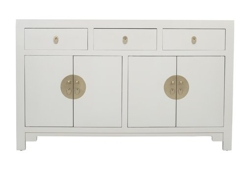 Fine Asianliving Chinese Sideboard Moonshine Greige - Orientique Collection L140xW35xH85cm