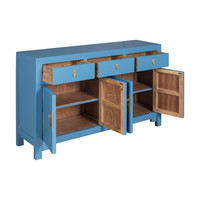 Chinese Sideboard Sapphire Blue - Orientique Collection W140xD35xH85cm