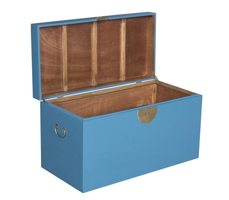 Chinese Kist Hemelsblauw - Orientique Collectie B90xD45xH50cm