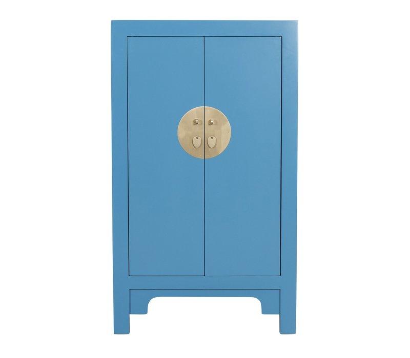 Chinese Kast Sapphire Blauw - Orientique Collection L70xB40xH120cm