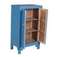 Armario Chino Azul Zafiro - Orientique Colección Anch.70 x Prof.40 x Alt.120 cm