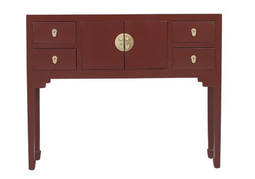 Fine Asianliving Chinese Sidetable Scarlet Rood - Orientique Collection L100xB26xH80cm
