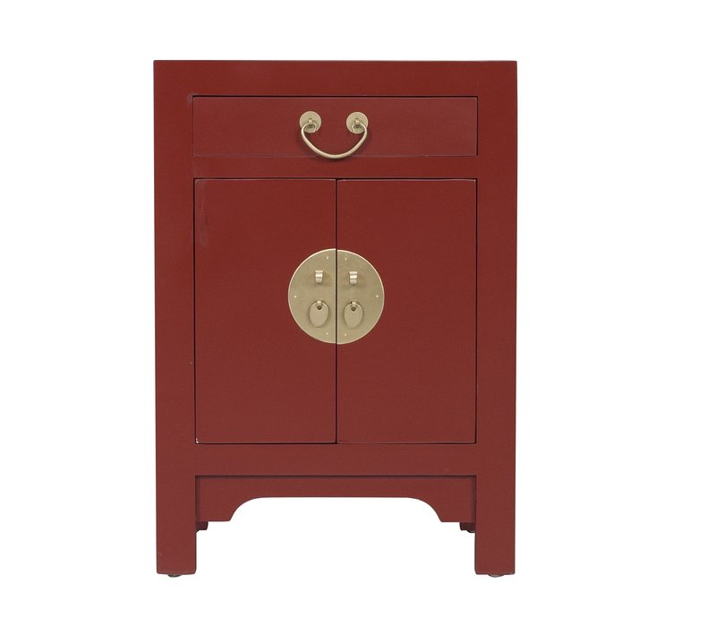 Chinees Nachtkastje Scarlet Rouge - Orientique Collection L42xB35xH60cm