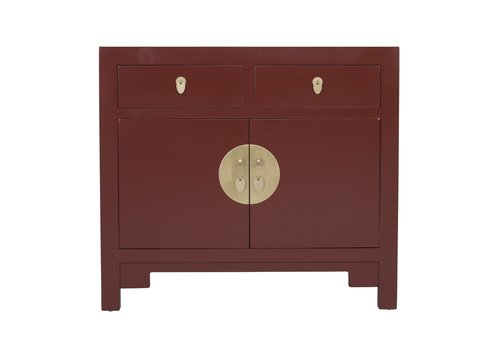 Fine Asianliving Chinese Cabinet Scarlet Rouge - Orientique Collection L90xW40xH80cm