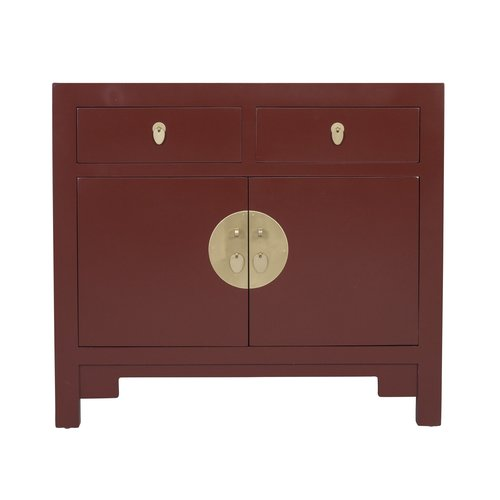 Chinese Cabinet Scarlet Rouge - Orientique Collection L90xW40xH80cm