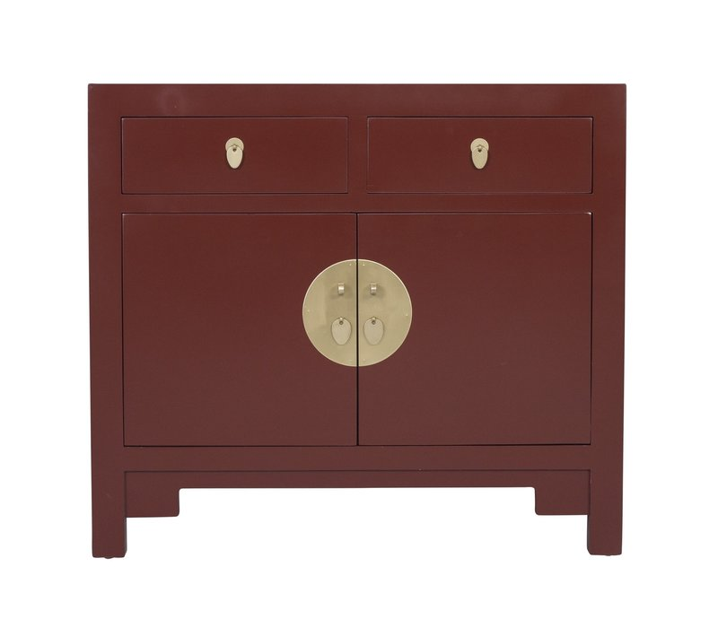 Chinese Kast Scarlet Rouge - Orientique Collectie B90xD40xH80cm