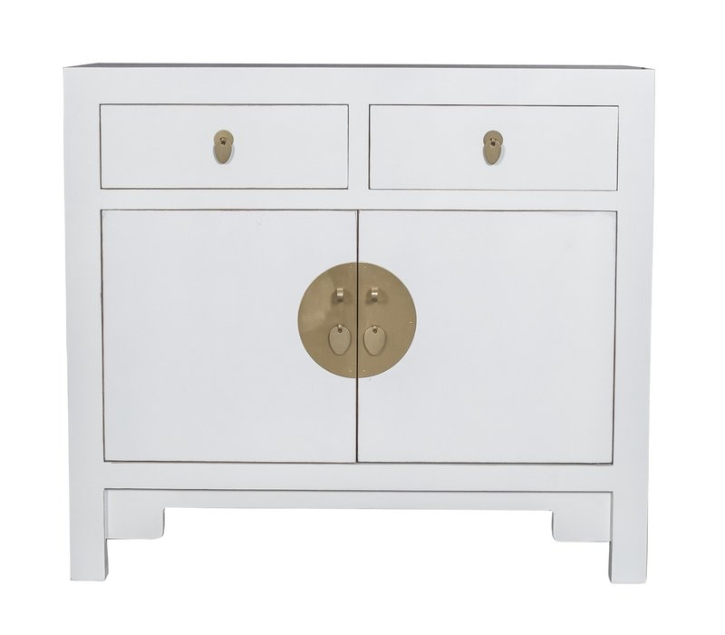 Chinese Cabinet Snow White - Orientique Collection L90xW40xH80cm