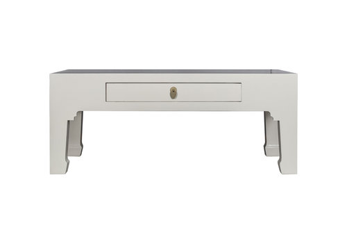 Fine Asianliving Tavolino Cinese Grigio - Orientique Collezione L110xP60xA45cm