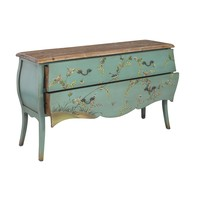 Chinese Sideboard Handpainted Spring - L150xB43xH88cm