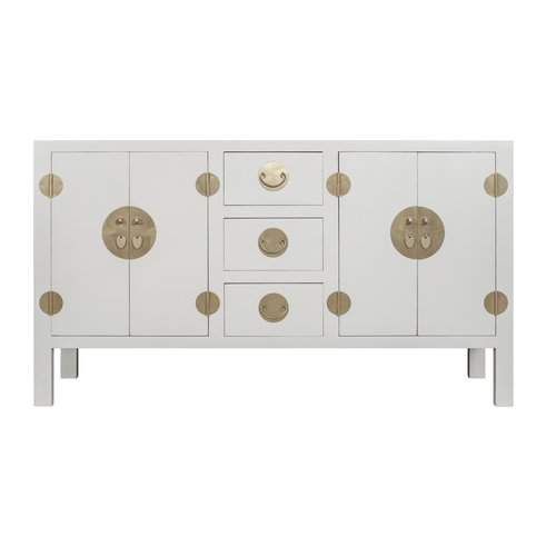 Chinese Sideboard Moonshine Greige - Orientique Collection L160xW50xH90cm