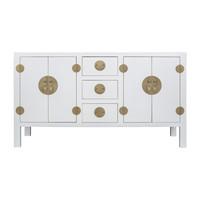 Chinese Dressoir Snow Wit - Orientique Collection L160xB50xH90cm