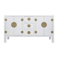Chinese Sideboard Snow White - Orientique Collection L160xW50xH90cm