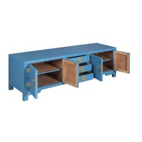 Chinese TV-meubel Hemelsblauw - Orientique Collectie B175xD47xH54cm