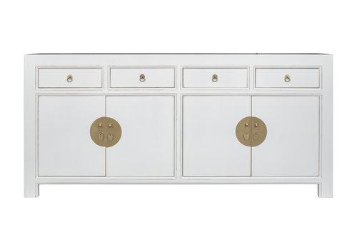 Fine Asianliving Buffet Chinois Blanc - Orientique Collection L180xP40xH85cm