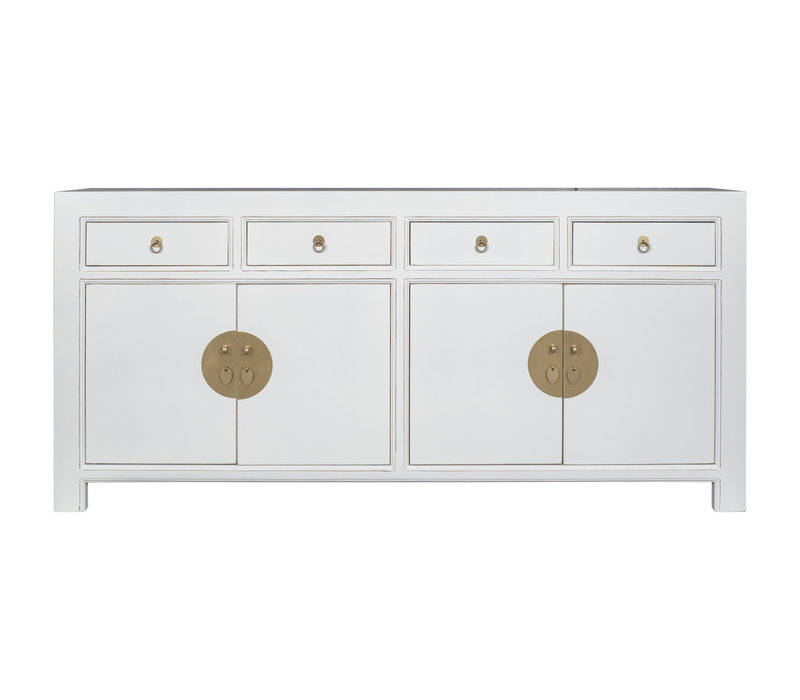 Chinese Sideboard Snow White - Orientique Collection L180xW40xH85cm