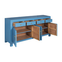 Chinese Dressoir Sapphire Blauw - Orientique Collection L180xB40xH85cm