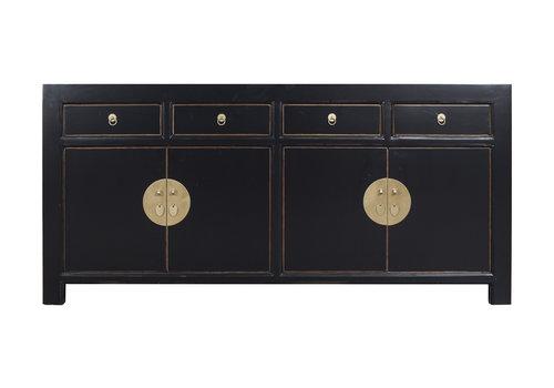 Fine Asianliving Chinese Dressoir Onyx Zwart - Orientique Collection L180xB40xH85cm