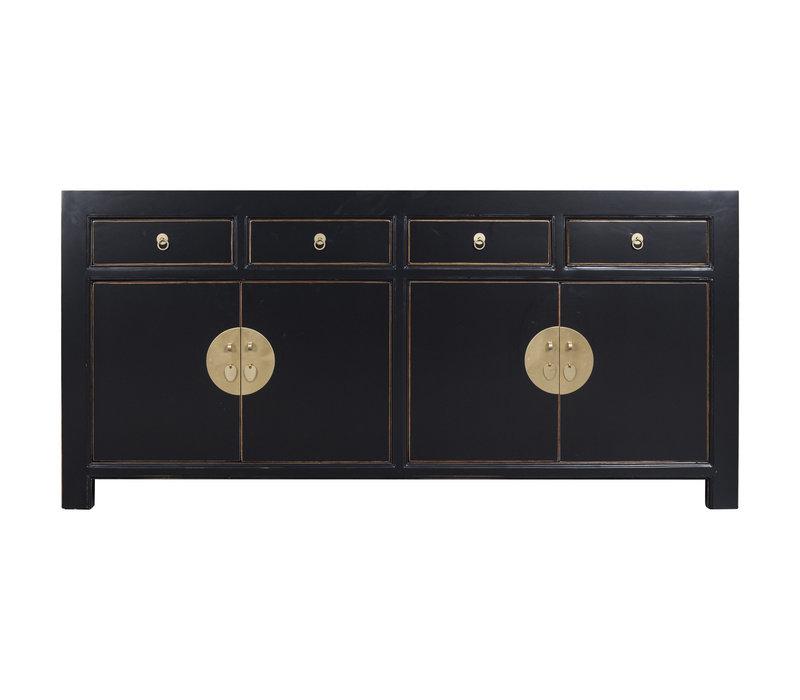 Chinese Dressoir Onyx Zwart - Orientique Collection L180xB40xH85cm