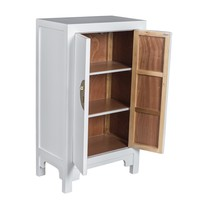 Chinese Cabinet Snow White - Orientique Collection L70xW40xH120cm