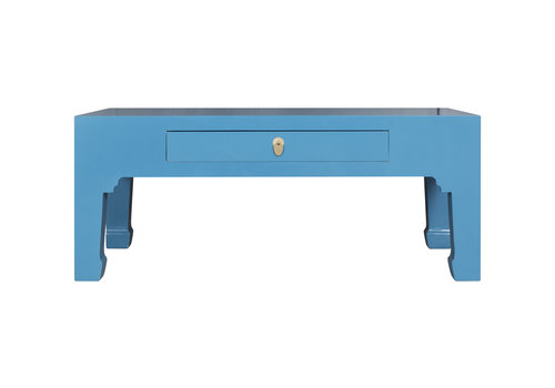 Fine Asianliving Chinese Coffee Table Sapphire Blue - Orientique Collection L110xW60xH45cm