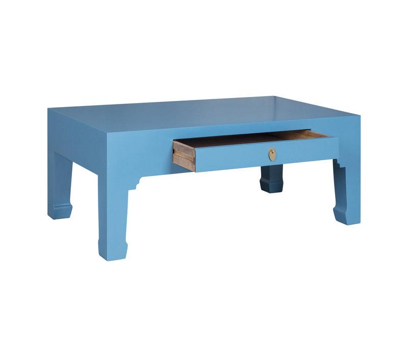 Chinese Salontafel Hemelsblauw - Orientique Collectie B110xD60xH45cm