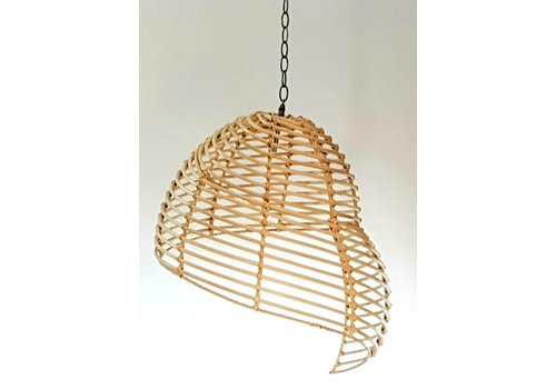 Fine Asianliving Rattan Hanging Lamp 45x50cm Handmade in Thailand