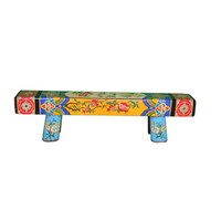 Chinese Bench Solid Wood Handpainted