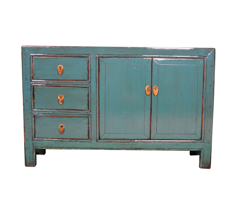 Antique Chinese Sideboard Blue W139xD39xH91cm