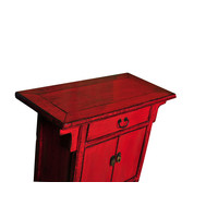Antique Chinese Cabinet Red W94xD44xH86cm