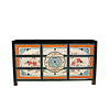 Fine Asianliving Antique Chinese Sideboard Handpainted W160xD40xH86cm