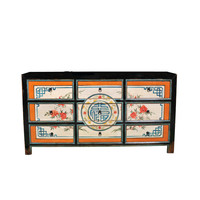 Antique Chinese Sideboard Handpainted W160xD40xH86cm