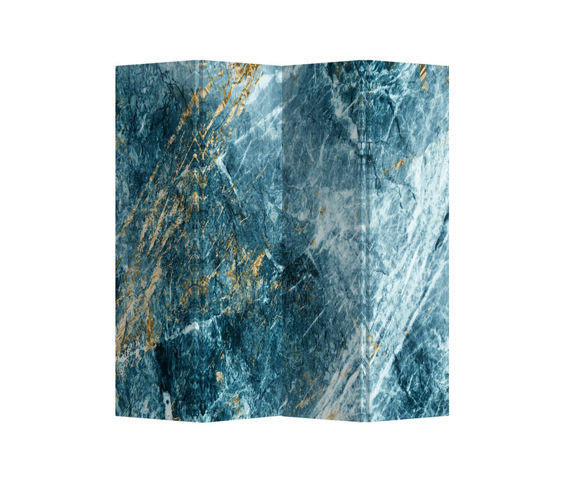 Fine Asianliving Room Divider Privacy Screen 4 Panel Marble Heaven L160xH180cm