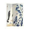 Fine Asianliving Fine Asianliving Kamerscherm Scheidingswand 3 panelen Japanese Woman L120xH180cm