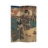 Fine Asianliving Fine Asianliving Room Divider Privacy Screen 3 Panel Japanese Empress L120xH180cm