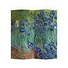 Fine Asianliving Fine Asianliving Kamerscherm 4 Panelen Irissen Van Gogh  L160xH180cm